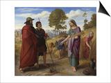Ruth in Boaz's Field, 1828 Posters by Julius Schnorr von Carolsfeld