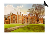Witchingham Hall, Norfolk, Home of Viscount Canterbury, C1880 Prints by Benjamin Fawcett