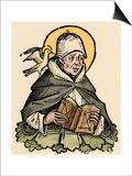 St Thomas Aquinas, 13th Century Italian Philosopher and Theologian Prints