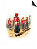 15th Sikhs, C1890 Plakaty autor H Bunnett