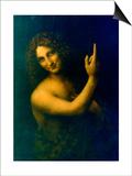 St John the Baptist, 1513-1516 Prints by  Leonardo da Vinci