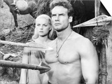 Duel of the Titans, (Aka Romolo E Remo), from Left: Virna Lisi, Steve Reeves, 1961 Prints