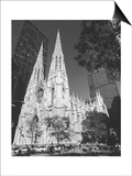 St. Patricks Cathederal, NYC Daytime 1 - New York City Landmark Midtown Manhattan Prints by Henri Silberman