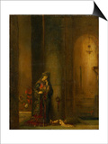 Salome at the Prison Posters by Gustave Moreau