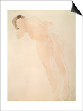 A Nude, 1900-1908 Print by Auguste Rodin