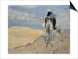 Sandstorm in the Libyan Desert, 1914 Prints by Max Slevogt