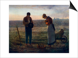 The Angelus, 1857-1859 Posters by Jean Francois Millet