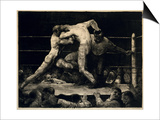 A Stag at Sharkey's, 1917 Prints by George Bellows