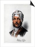 Duleep Singh, Sikh Ruler, C1890 Plakat autor Petter & Galpin Cassell