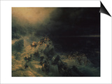 The Deluge, 1864 Posters by Ivan Konstantinovich Aivazovsky