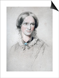 Charlotte Bronte, English Novelist, 1850 Prints by George Richmond