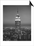 Empire State Building, New York City 3 Prints by Henri Silberman