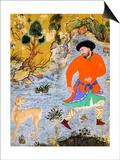 Man with a Saluki, Ca 1555 Art