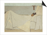 Au Lit (In Be), 1891 Prints by Édouard Vuillard