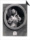 Au Moins Soyez Discret!, 1789 Affiches par Augustin De Saint-aubin