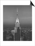 Chrysler Bulding, New York City 3 Poster by Henri Silberman