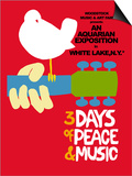 Woodstock - Festival Poster Posters by  Epic Rights