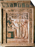 Stele of the Royal Scribe Ipi, Middle of the 14th Century Bc Prints