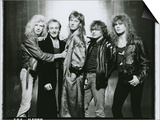 Def Leppard - Hysteria Tour 1987 B&W Posters by  Epic Rights