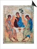 The Trinity of Roublev, C1411 Print by Andrey Rublyov