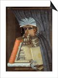 The Librarian Kunst af Giuseppe Arcimboldo