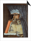 The Librarian Art by Giuseppe Arcimboldo