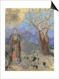 Odilon Redon - The Buddha, 1906-1907 Obrazy