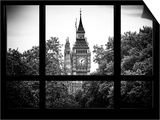 Window View of Big Ben - City of London - UK - England - United Kingdom - Europe Posters by Philippe Hugonnard