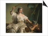 Allegory of Justice Combating Injustice Posters by Jean-Marc Nattier