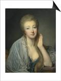 Jeanne Becu, Comtesse Du Barry (1743-179) Posters by Jean-Baptiste Greuze