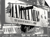 Love NY B&W Series - Mamma Mia The Musical - Winter Garden Theatre - Manhattan - New York - USA Prints by Philippe Hugonnard