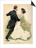 Danish Couple 1902 Prints by Paul Fischer