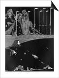Poe, Tales, Pit and Pendulum Konst av Harry Clarke