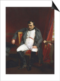 Napoleon at Fontainebleau During the First Abdication Prints by Paul Delaroche