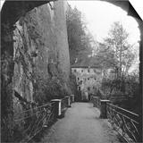 Sperrbogen, Hohensalzburg Fortress, Salzburg, Austria, C1900 Posters by  Wurthle & Sons