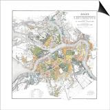 Map of Petersburg Prints