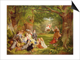 The Picnic Prints by Thomas P. Hall