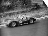 Roy Salvadori Driving a 1953 Maserati at Brands Hatch, Kent, 1954 Prints