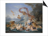Triumph of Venus Prints by François Boucher
