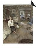 La Comtesse Marie-Blanche De Polignac, 1928-1932 Posters by Édouard Vuillard
