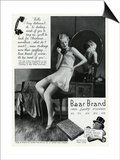Advert for Stockings by Bear Brand 1934 Posters