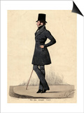 Man in Black 1820s Posters by Richard Dighton