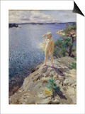 In the Skerries Art by Anders Leonard Zorn
