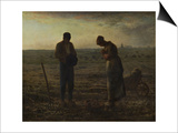 The Angelus, Between 1857 and 1859 Posters by Jean-François Millet