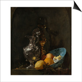 Still Life with Silver Jug, C. 1655-1656 Poster by Willem Kalf