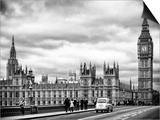 Palace of Westminster and Big Ben - Westminster Bridge - London - England - United Kingdom Prints by Philippe Hugonnard