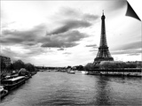 View of the River Seine and the Eiffel Tower - Paris - France - Europe Prints by Philippe Hugonnard