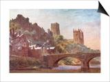 Durham, Framwellgate Brid Art by WW Collins