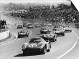 Start of the Le Mans 24 Hours, France, 1964 Art