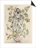 Elder-Tree Mother Póster por Arthur Rackham